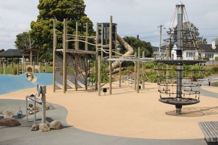 "Waterview Reserve Playground <br/> <span class=""gallerysubheadingcompleted""> Completed December 2015</span>"